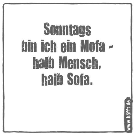 6 lustige sonntagssprüche · häfft.de