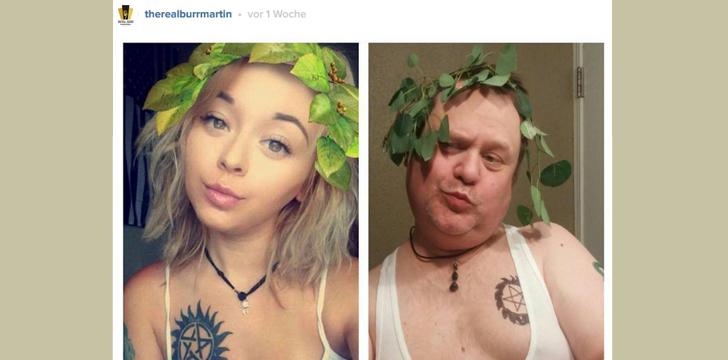 Nackte Tochter mit Vater