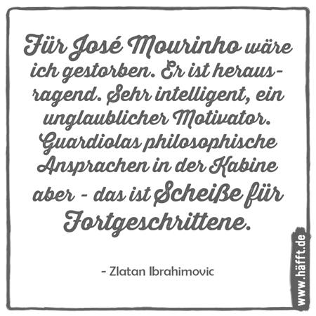 Zlatan Ibrahimovic – Seine besten Sprüche · Häfft.de