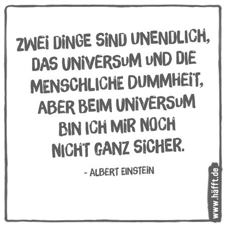 Einsteins sprüche