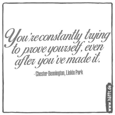 Zitate Von Chester Bennington Von Linkin Park