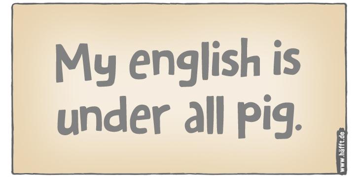 Deutsche Sprichwörter Englisch