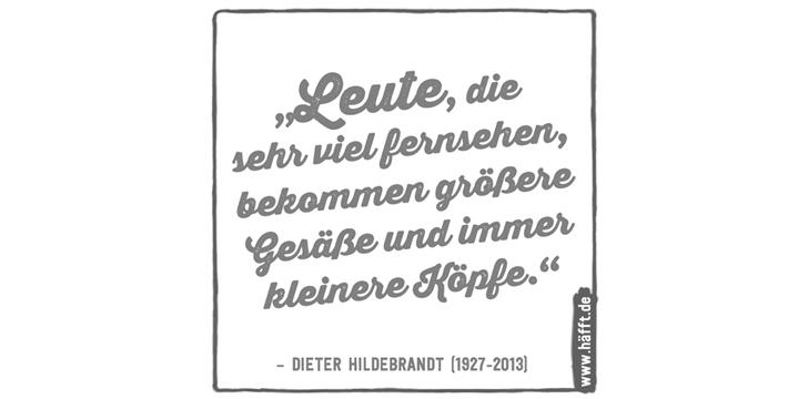 Dieter Hildebrandt Godfather Der Satire Häfftde