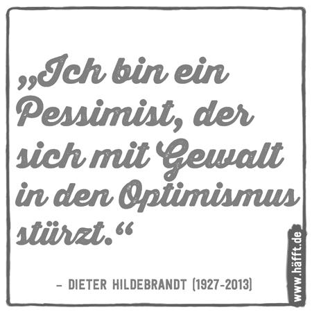 6 Zitate Von Dieter Hildebrandt Dem Godfather Der Satire