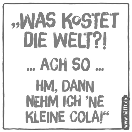 7 Sprüche übers liebe Geld · Häfft.de