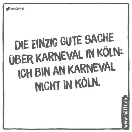 6 Sprüche über Karneval, Fasching und Co. · Häfft.de