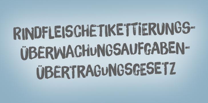 Lange Deutsche Wörter