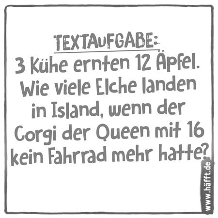 6 Sprüche über Mathe · Häfft.de