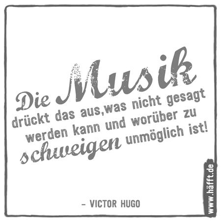 Schöne Musik Sprüche