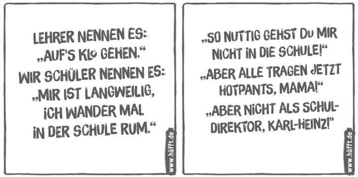 Geliebte 8 Sprüche über Schule · Häfft.de &AE_67