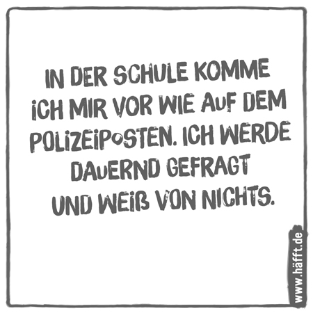 Geliebte 8 Sprüche über Schule · Häfft.de &VV_07