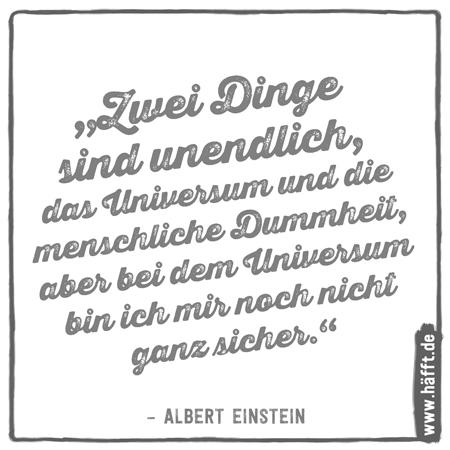 7 häfftige Sprüche über Dummheit · Häfft.de
