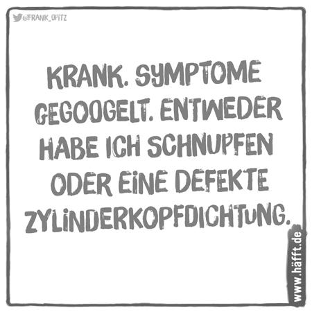 6 Spruche Ubers Symptome Googeln Hafft De