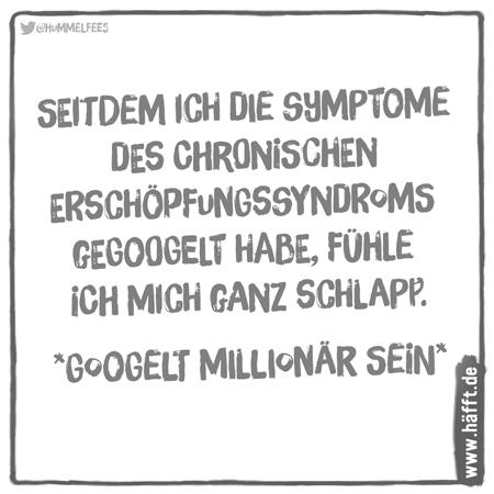 6 Sprüche übers Symptome googeln · Häfft de