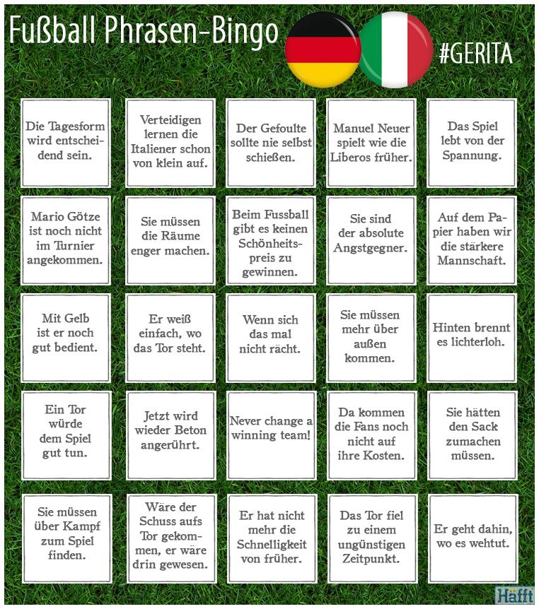 Fussball Phrasen Bingo Gerita Hafft De