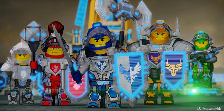 Ausmalbild Iron Man Ist Zum Kampf Bereit Ausmalbilder: Lego® Nexo Knights · Häfft.de