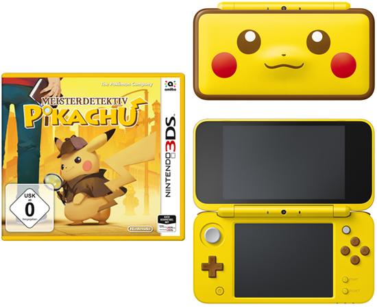 New Nintendo 2ds Xl Pikachu Edition Häfft De